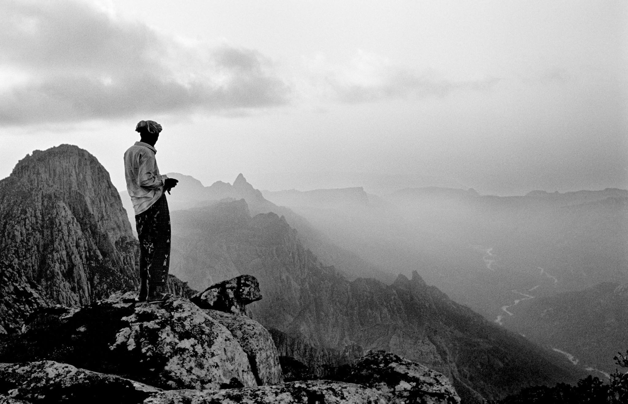 Sèrie: Socotra, l'illa dels genis. Cims de les muntanyes de Al Haghier