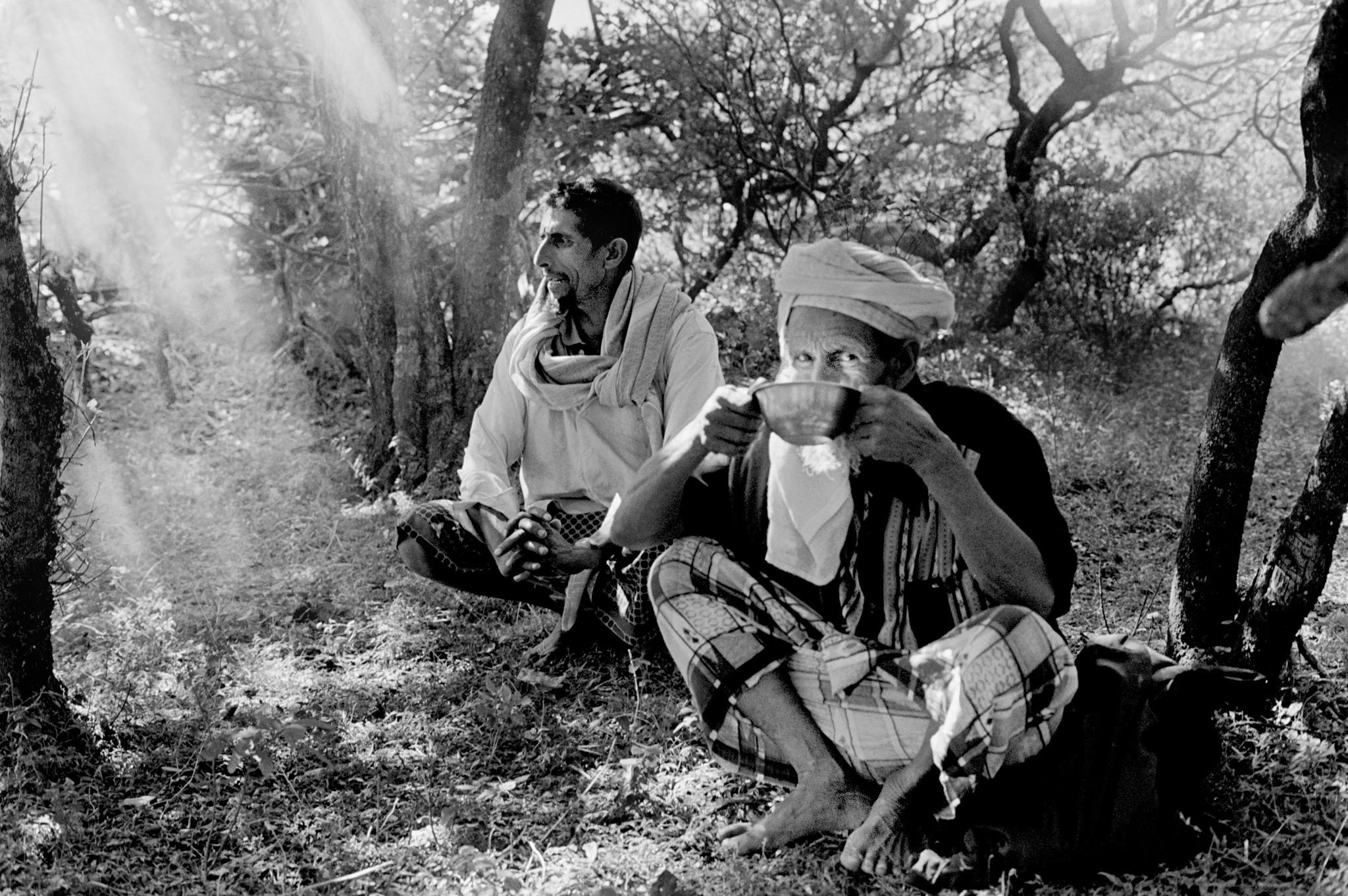 Sèrie: Socotra, l'illa dels genis. Suleiman i el seu pare en Xeic Mohamed