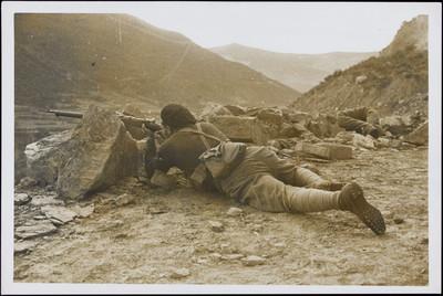 Combatent republicà al Pirineu aragonès