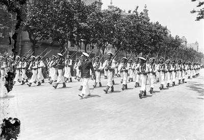 Festa popular amb motiu de la proclamació de la República