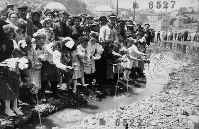 Festa del peix al riu Cardoner a Manresa