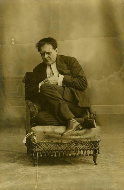 Retrat de l'actor Enric Borràs