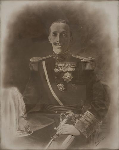 Retrat del rei Alfons XIII