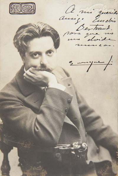 Retrat d'Enrique, amic d'Eusebi Bertrand