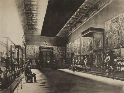Palacio de Bellas Artes: instalacion de la Real Casa