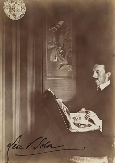 Retrat de Léon Víctor Solon