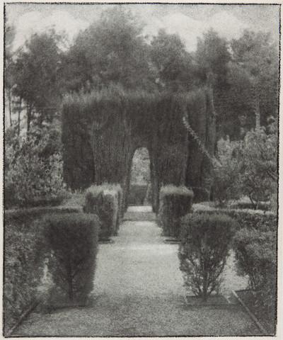 El jardín de la fábrica Guarro