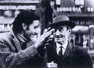 V. Escudero i A. Gades a Barcelona