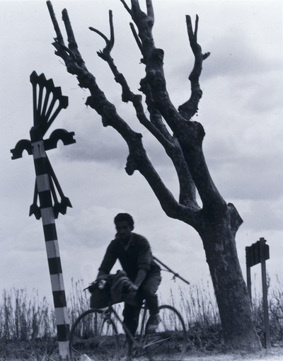 Ciclista falangista