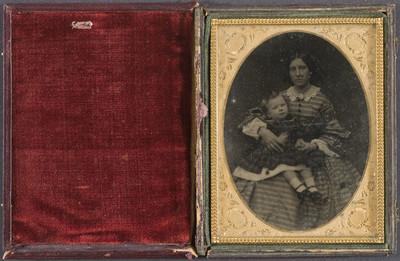 Retrat de dona amb nena