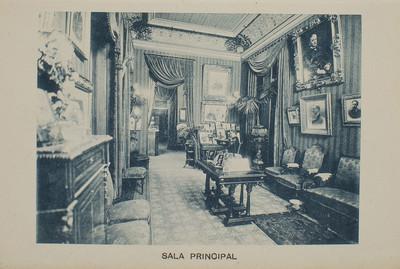 Estudi Fotogràfic Napoleón. Sala principal