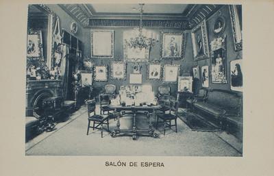 Estudi Fotogràfic Napoleón. Sala d'espera