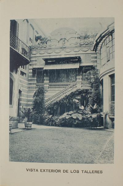 Estudi Fotogràfic Napoleón. Vista exterior dels tallers