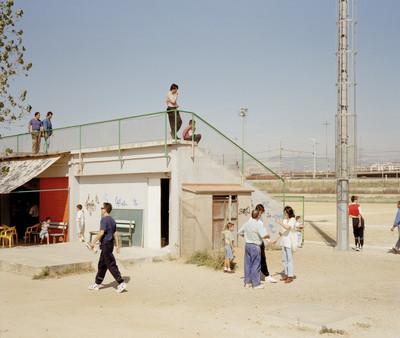 """Sin título (Campo de fútbol). Serie:""""Domingos"""""""
