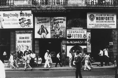 Les Rambles, Barcelona, 1962 [sèrie Barcelona blanc i negre]