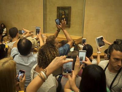 Museu del Louvre - La Gioconda (París)