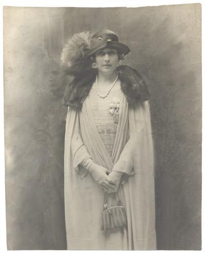 Retrat de la reina Victòria Eugènia de Battemberg