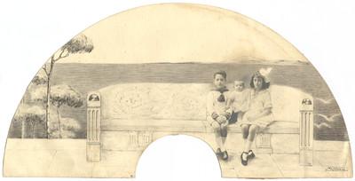 Retrat de dos nens
