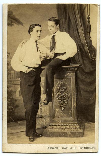 Retrat de dos joves