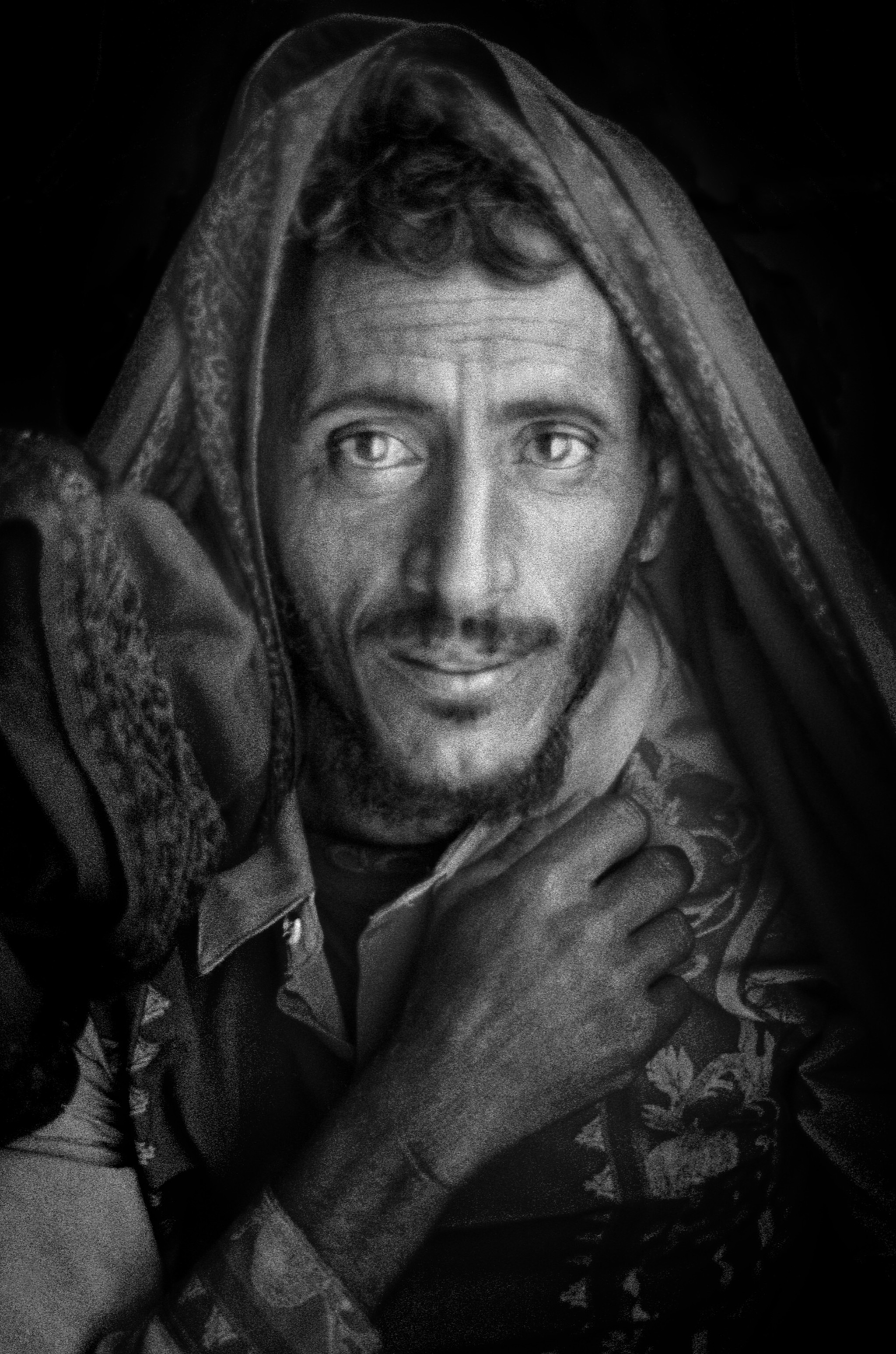 Sèrie: Socotra, l'illa dels genis. Pastor de les muntanyes de Al Haghier. Illa de Socotra