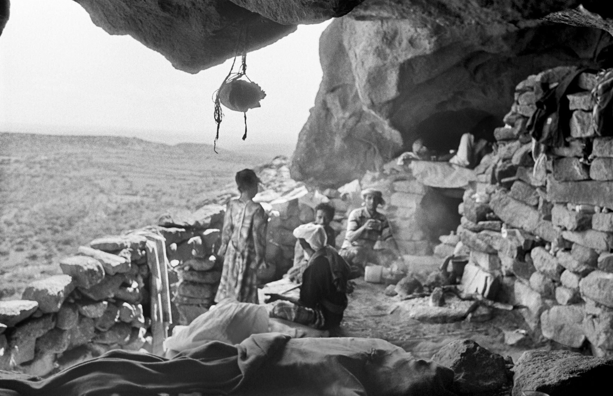 Sèrie: Socotra, l'illa dels genis. Cove habitada de les muntanyes de l'illa de Socotra