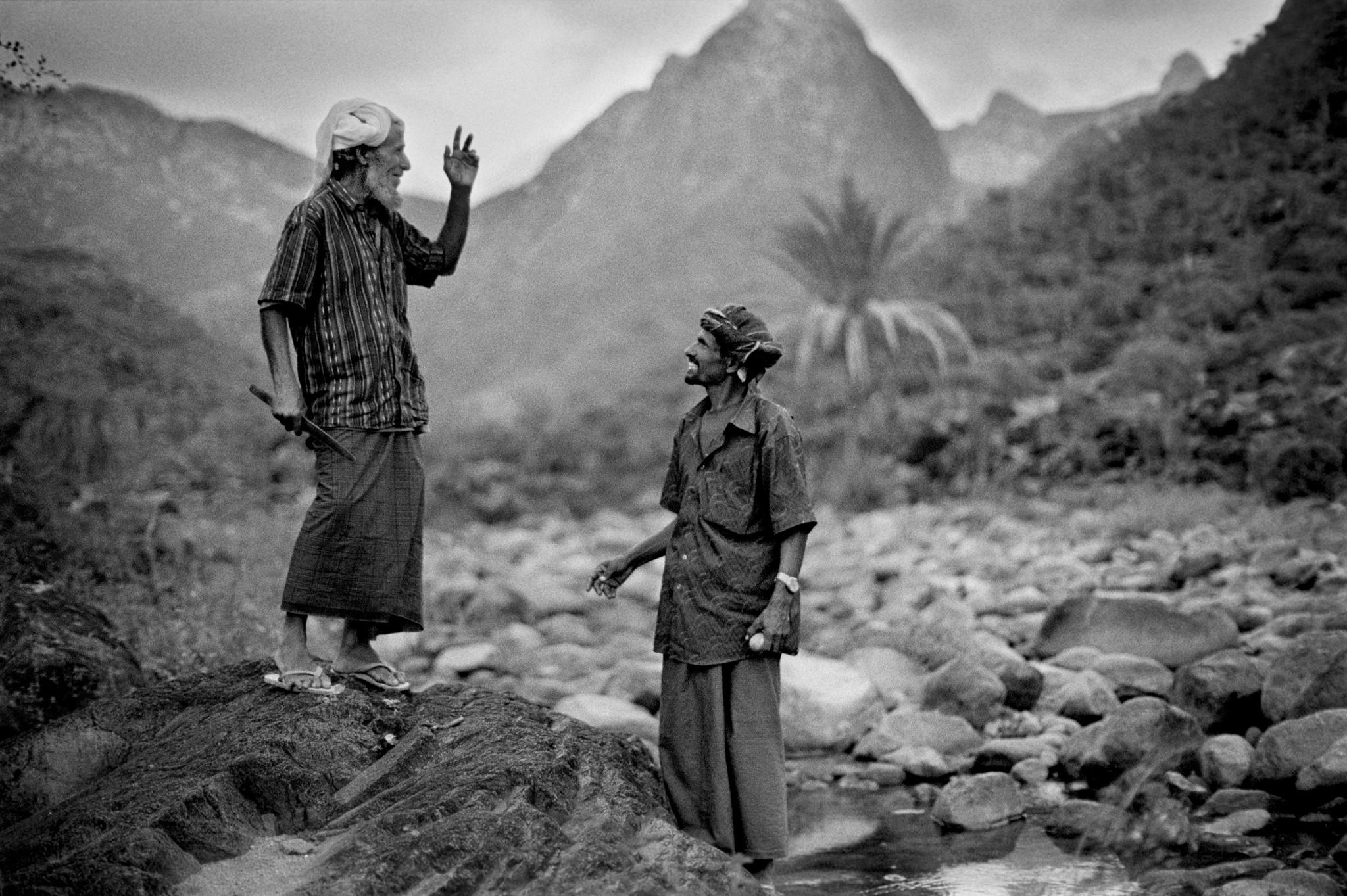 Sèrie: Socotra, l'illa dels genis. Conversa entre dos pastors