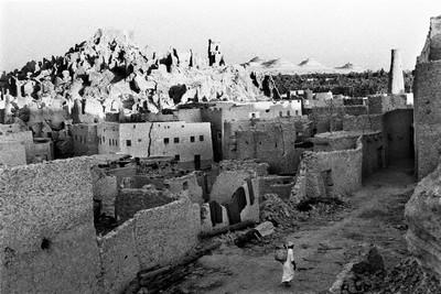 Sèrie: Els Oasis d'Egipte. Ciutadella. Oasi de Siwa. Egipte 1984.