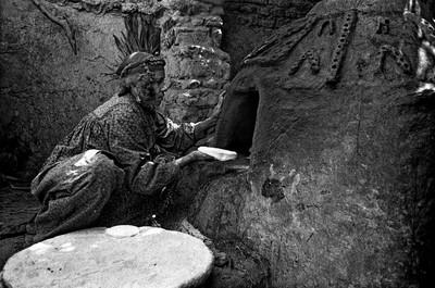 Sèrie: Els Oasis d'Egipte. Forn. Qalamon. Al Dahla Oasis d'Egipte. 1984.