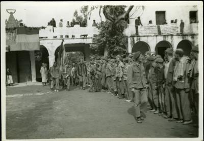 Grup de voluntaris de les Brigades Internacionals a la Guerra Civil Espanyola