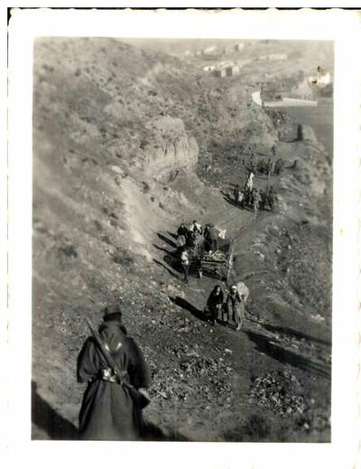 Refugiats civils de la Batalla de Terol