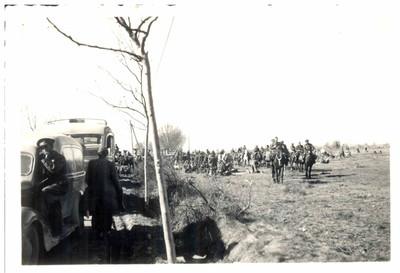 Refugiats civils i militars de la Guerra Civil Espanyola a la frontera