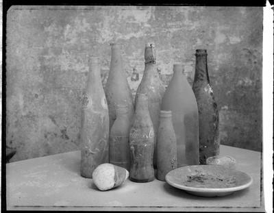 Arqueologia Contemporània I (triptic). Sèrie Temps