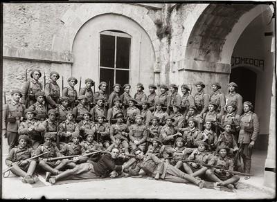 Batalló de soldats del castell de Sant Ferran de Figueres