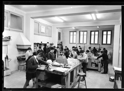 Tallers a l'Acadèmia de Sant Pau de Tarragona.