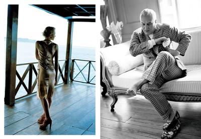 Moda (Panamà) per Telva | Manolo Blahnik (Bath) per Telva