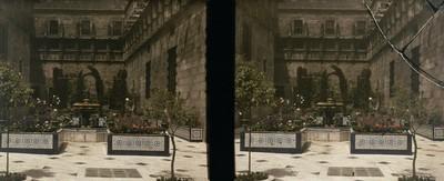 Pati dels tarongers al Palau de la Generalitat de Barcelona