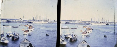 Vaixells al port de Barcelona
