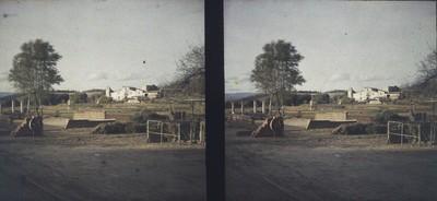 Vista general d'una masia