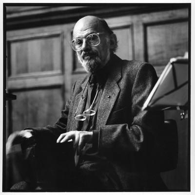 Allen Ginsberg - desembre 1993 -  Barcelona