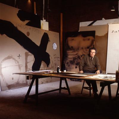 Antoni Tapies - 9 de gener 1995 - Barcelona