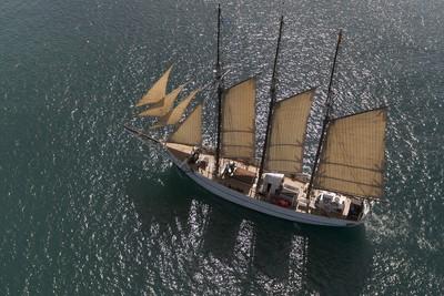 Pailebot Santa Eulàlia navegant