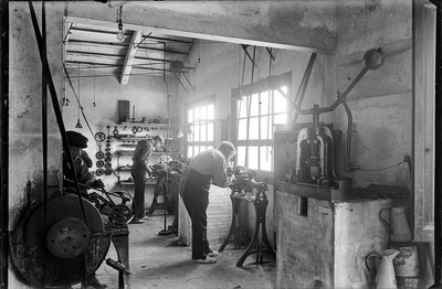 Taller mecànic de la Fàbrica Blancafort