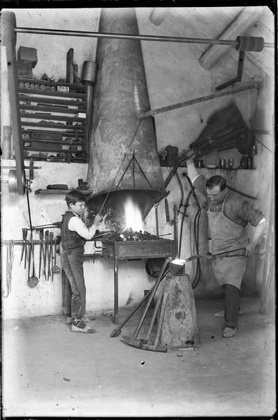 Taller de forja de la Fàbrica Blancafort