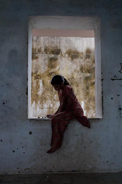 Retrat noia Bihar Índia