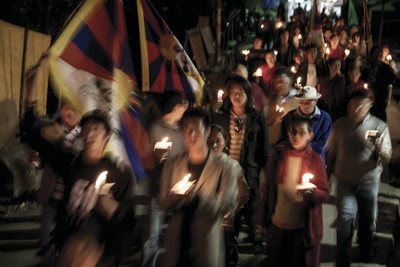 Manifestació tibetans