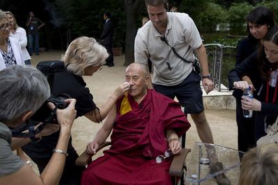 Dalai Lama a Barcelona TVC