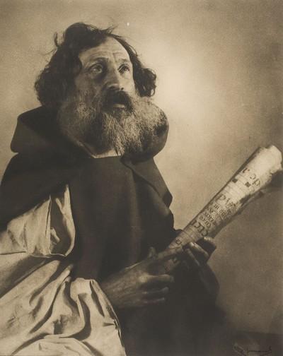 Home amb barba (monjo)