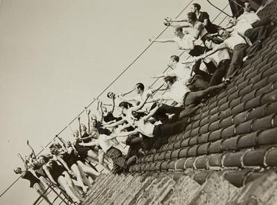 Els Ballets Russos a la teulada del Gran Teatre del Liceu (Barcelona)