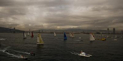 Sortida de la Barcelona World Race/ De la sèrie Barcelona i l'esport