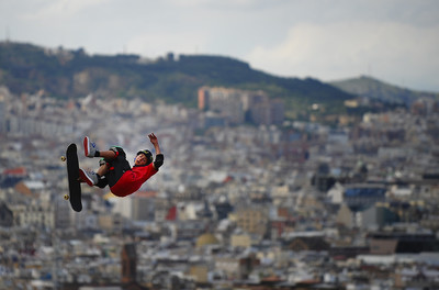 Skater als X games/ De la sèrie Barcelona i l'esport